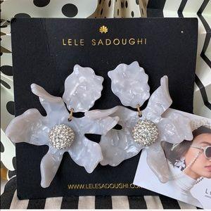 NWT Lele Sadoughi Earrings 🌸
